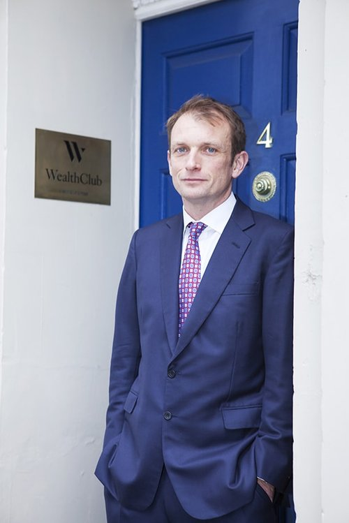 Alex Davies Wealth Club CEO