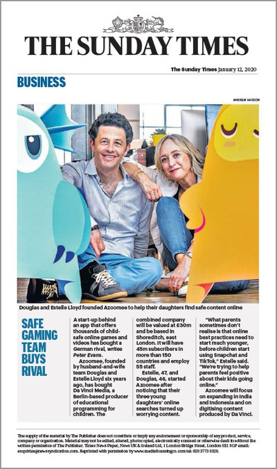 Sunday Times Article