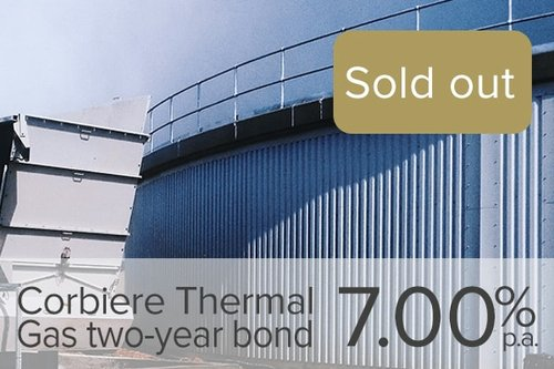 Wealth Club - Corbiere Thermal Gas two-year bond