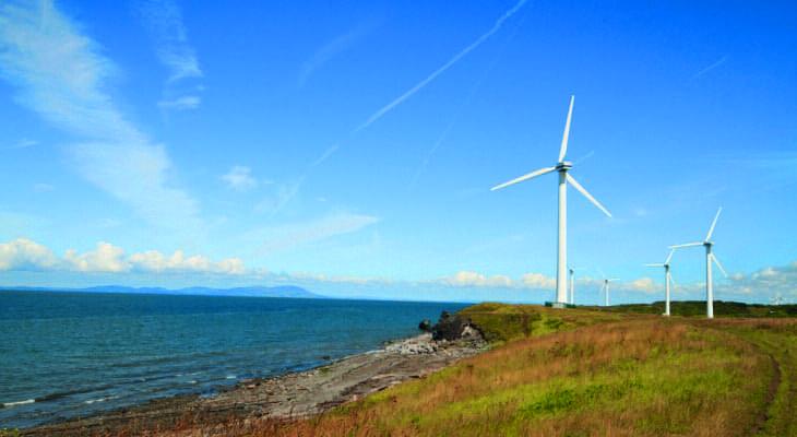 Curlew Power wind farm in Workington, Cumbria