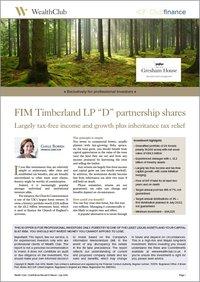 FIM Timberland 2019 report border