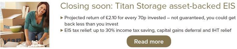 Titan Storage asset-backed EIS