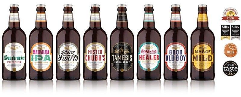 West Berkshire Brewery beers