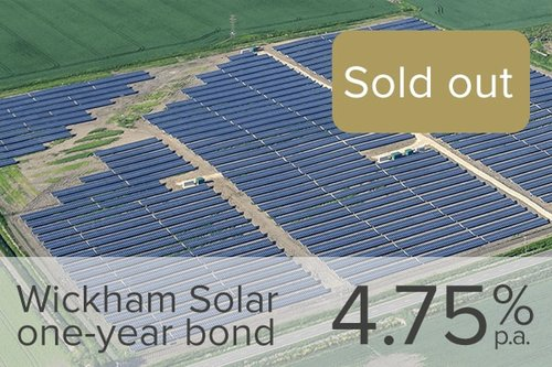 Wealth Club - Wickham Solar one-year bond