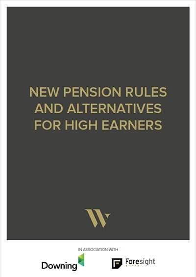 New pension rules 2016 - alternatives for high earners cover
