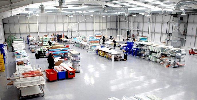 Velocity Composites facility